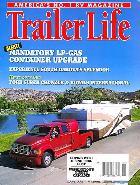 Trailer Life Magazine Covers By Jeff Johnston